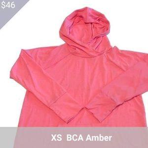 Xs Amber Lightweight Hoodie Neon Highlighter Pink!